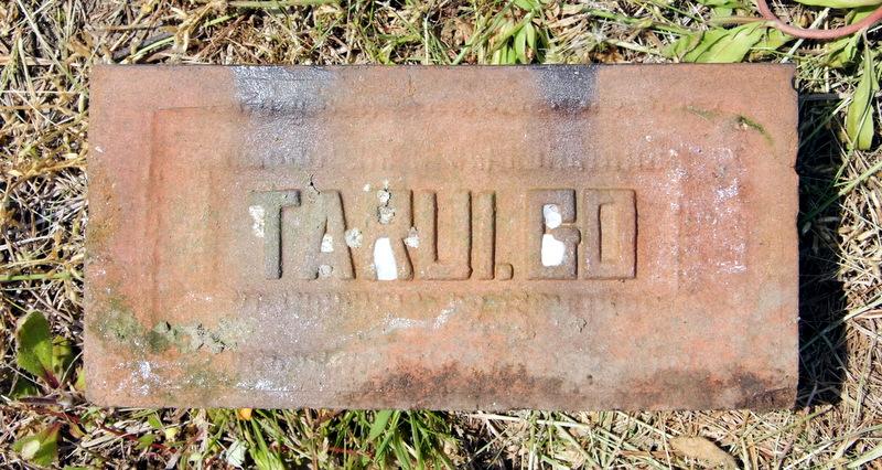 樽井煉瓦刻印「TARUI GO.」